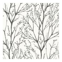 Brewster Bath Bath Bath IV Delamere Black Tree Branches Wallpaper