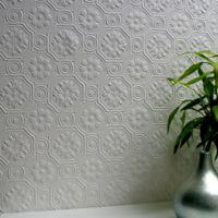 Brewster Home Spencer Paintable Supaglypta Wallpaper