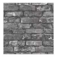 Beacon House Oxford Brickwork Wallpaper in Slate