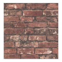 Beacon House Oxford Brickwork Wallpaper in Rust