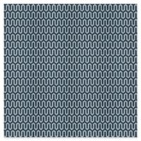 Ypsilon Wave Wallpaper in Navy