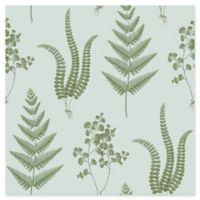Brewster Home Fashions Ebele Herbs Wallpaper in Blue