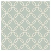 Brewster Home Fashions Eaton Geometric Wallpaper in Blue