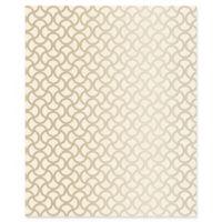 Decorline Scale Geometric Wallpaper in Cream