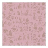 Brewster Home Moomin Novelty Wallpaper in Pink