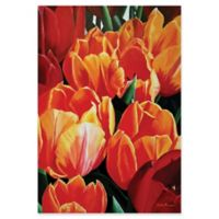 Metal Art Studio Tulip Bonanza 22-Inch x 32-Inch Metal Wall Art