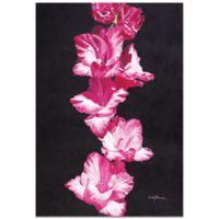 Metal Art Studio Bright Pink Glads 22-Inch x 32-Inch Plexiglas Wall Art