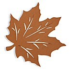 Felt Leaf Placemat in Bronze