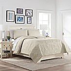 Marble Hill Nepal Queen Quilt Set in Ivory