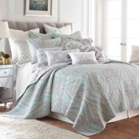 Levtex Home Sherie Reversible Twin Quilt Set in Blue/Red