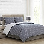 Oki Full/Queen Comforter Set in Denim