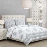 Buy Grey White Comforter Sets Bed Bath Beyond