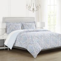 Gawain Full/Queen Comforter Set in Seafoam