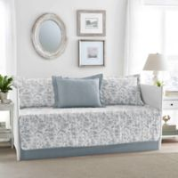 Laura Ashley® Amberley Daybed Quilt Set in Blue