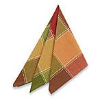 Autumn Check Napkins (Set of 4)