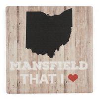 Thirstystone® Mansfield That I Love Single Coaster