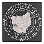 Thirstystone® Youngstown, OH Stamp Single Coaster