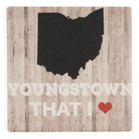 Thirstystone® Youngstown That I Love Single Coaster