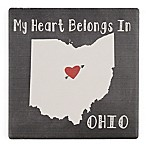 Thirstystone® My Heart Belongs to Ohio Single Coaster