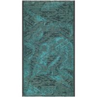 Safavieh Palazzo Southwest 2-Foot 6-Inch x 5-Foot Area Rug in Black/Turquoise