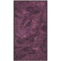 Safavieh Palazzo Southwest 2-Foot 6-Inch x 5-Foot Area Rug in Black/Purple
