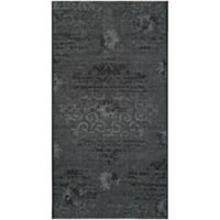 Safavieh Palazzo Olen 2-Foot 6-Inch x 5-Foot Accent Rug in Black/Grey