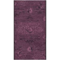 Safavieh Palazzo Olen 2-Foot 6-Inch x 5-Foot Accent Rug in Black/Purple