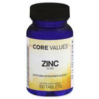 Core Values™ 100-Count Zinc 50 mg. Tablets