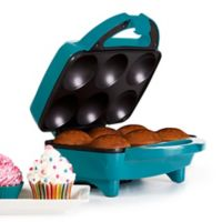 Holstein® Housewares 6-Piece Cupcake Maker in Teal