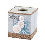Avanti Beachcomber Boutique Tissue Box Cover