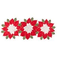 Poinsettia Wonder 54-Inch Holiday Table Runner