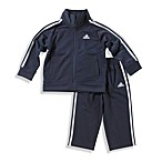 adidas® Kids Infant Boy's Size 3 Months Tricot Tracksuit Set in Navy