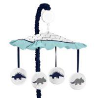 Sweet Jojo Designs Mod Dinosaur Musical Mobile in Turquoise/Navy