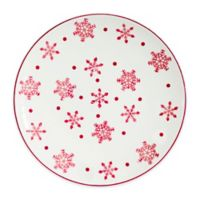 Euro Ceramica Winterfest Round Platter