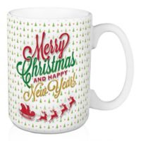 "Designs Direct ""Merry Christmas & Happy New Year"" Coffee Mug"