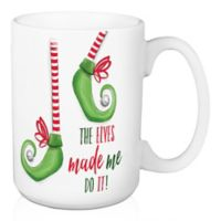 """Designs Direct """"Elves Made Me Do It"""" Coffee Mug in Green"""