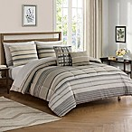 Roanoke 9-Piece Queen Comforter Set in Grey