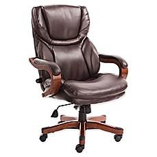 Sertau0026reg; Big And Tall Bonded Leather Executive Chair