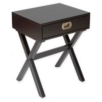 Silverwood Brigham Campaign Table in Black