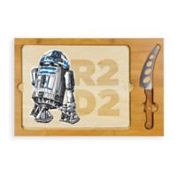 Picnic Time® R2-D2 Icon Wood Cutting Board & Knife Set