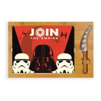Star Wars™ Empire Icon Glass Top Tray & Knife Set