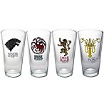 Game of Thrones Pint Glasses (Set of 4)