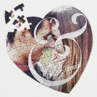 You & I 75-Piece Photo Heart Puzzle
