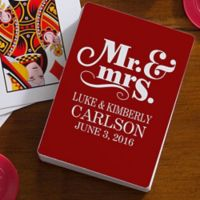 Happy Couple 54-Count Playing Cards
