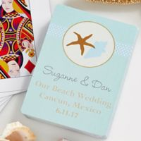 The Beach 54-Count Playing Cards