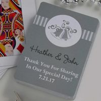 Wedding Bells 54-Count Playing Cards