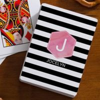 Modern Stripe 54-Count Playing Cards