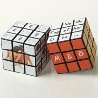 """We Go Together Like…"" Photo Rubik's® Cube"