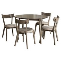 Hillsdale Furniture Mayson 5-Piece Dining Set in Grey