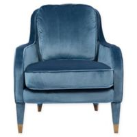 Chic Home Gila Accent Chair in Blue
